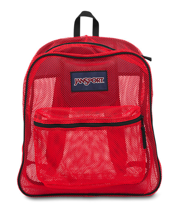 Mesh Pack Backpack | Shop Clear Mesh Backpacks Online at JanSport