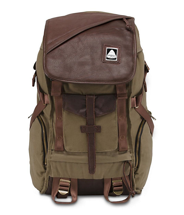 Pleasanton Backpack | Leather Backpacks | JanSport Online