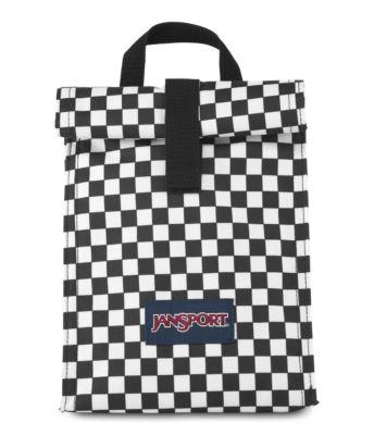 JanSport Rolltop Lunch Bag - Finish Line Flag Check