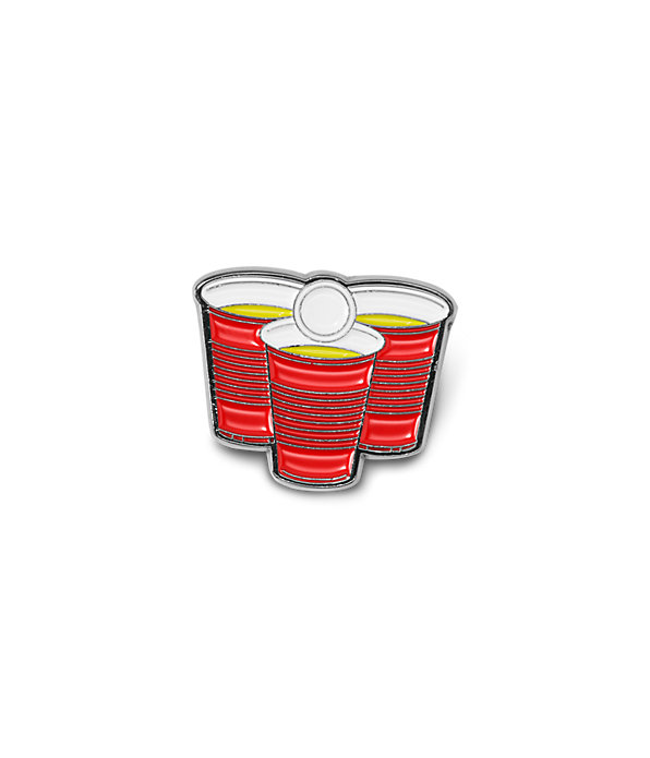 FRATERNITY RED CUP PIN