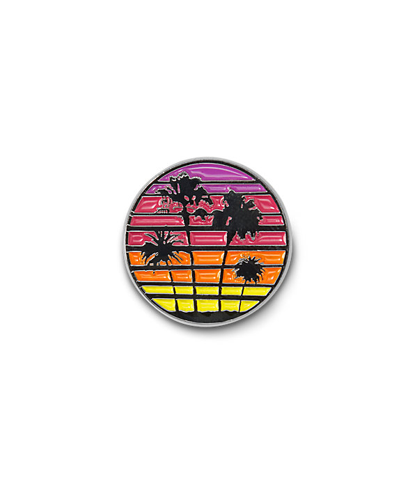 I LUV LA PALM TREES PIN