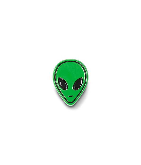 ALIEN VISITOR PIN