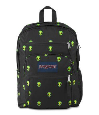JanSport Big Student Backpacks - Alien Visitor