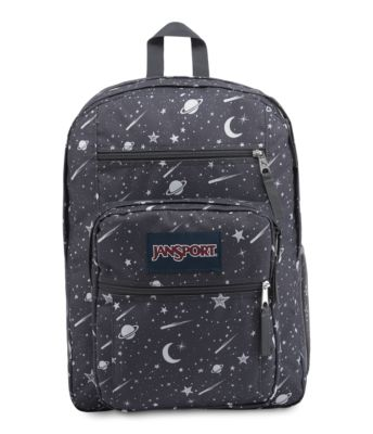JanSport Big Student Backpacks - Grey Mystic Cosmos