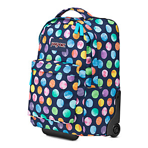 Wheeled SuperBreak Backpack in Multi Watercolor | Bag of the Day