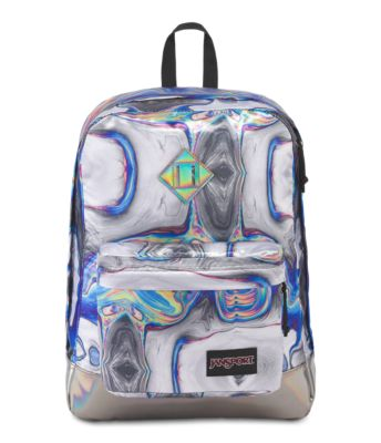 JanSport Super FX Backpack Trendy School Pack With A Unique Textured Surface