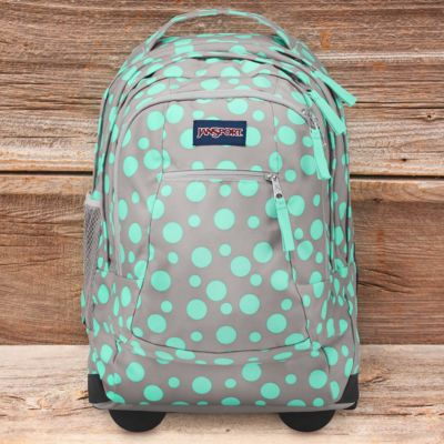 Driver 8 Rolling Backpack in Grey Rabbit | JanSport